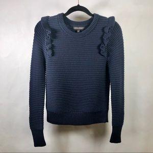 Banana Republic Frilly Sweater, size XS